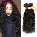 Mongolian Kinky Curly Hair 3 Bundles Curly Weave Human Hair 7A Mongolian Afro Kinky Curly Virgin Hair MS Ariel Mongolian Hair