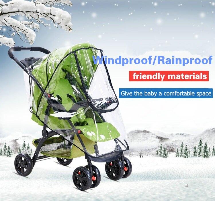 baby stroller rain cover 01