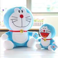 30CM The machine cat lovely doraemon plush doll stuffed movie soft toy 2kinds