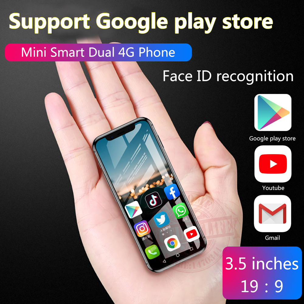 Anica K TOUCH I9 3G 32G Smallest mini dual 4G Ultra thin 3 5 Screen Face