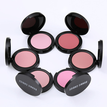 BONNIE CHOICE Blush Baked Cheek Face Blusher Texture Baked Blush Face Base Mineral Blusher Palette Blush Makeup 6 Colors(China)