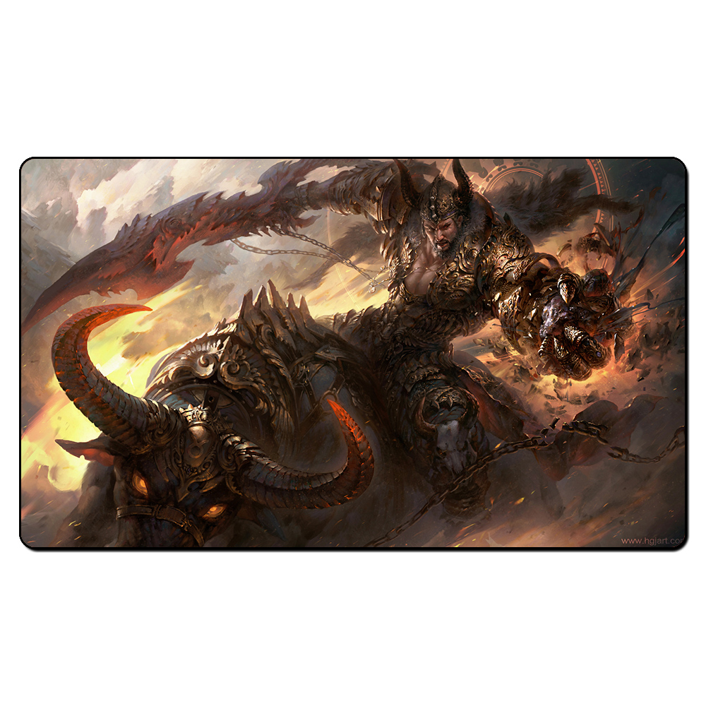 (Taurus) Board Games Playmats, Magical Card Play Mat,The Games Game Pad Custom Design Playmat with Free Gift Bag