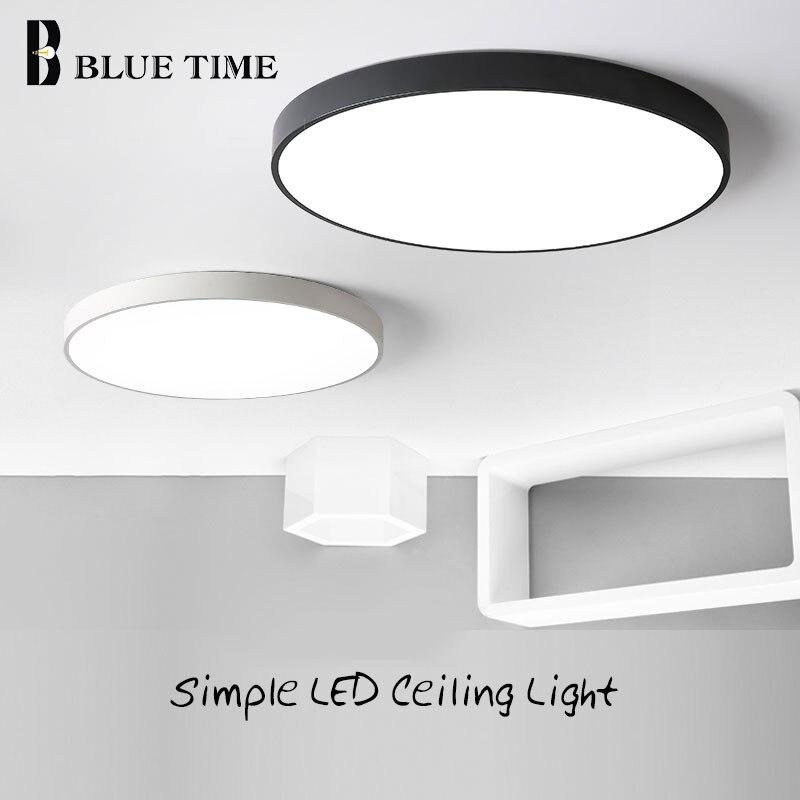 Lustre LED moderne pour salon chambre Lustre rond plafond Lustre luminaire Lampara Techo lampes noires et blanchesLustre LED moderne pour salon chambre Lustre rond plafond Lustre luminaire Lampara Techo lampes noires et blanches