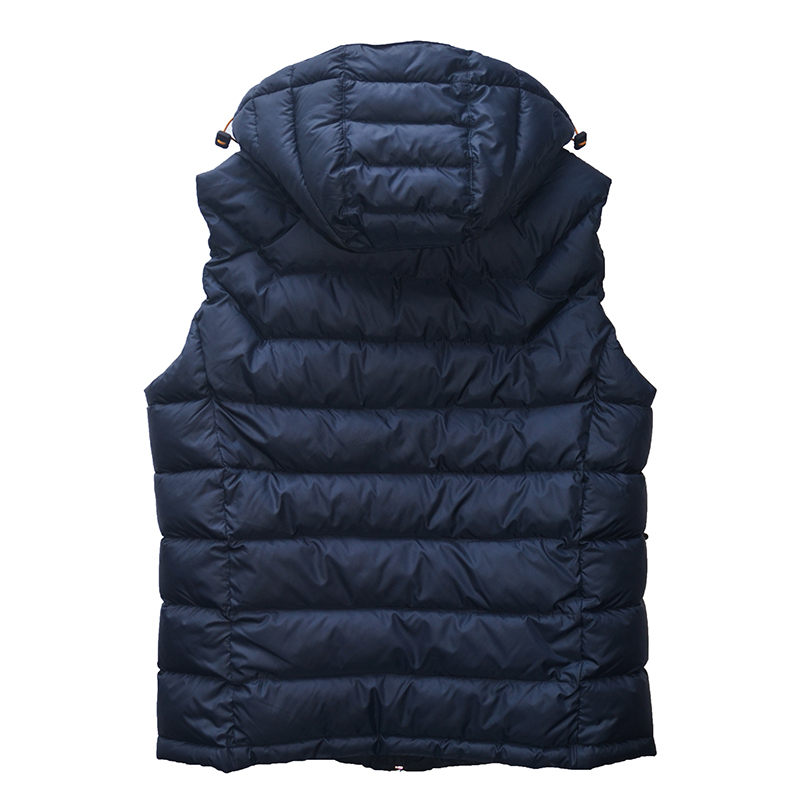 TIGER FORCE 2018 Hot Sale Men Down Vest 80%White Down Vest Sleeveless Jacket Detachable Hood Zipper Winter Jacket Free Shipping
