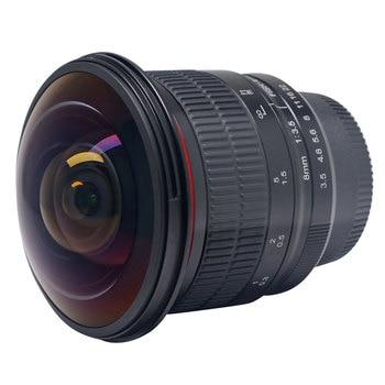 Meike 8mm F3.5 Ultra HD Fisheye manual Lens for Nikon F Mount D7100 D5300 D750 D3100 D3200 D5100 D90 DSLR Camera APS-C/Full-Fram