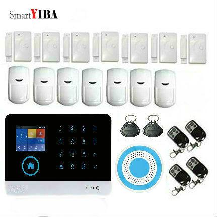 SmartYIBA WiFi 3G Wireless font b Alarm b font System APP Control Smart Home Alarmes Metal