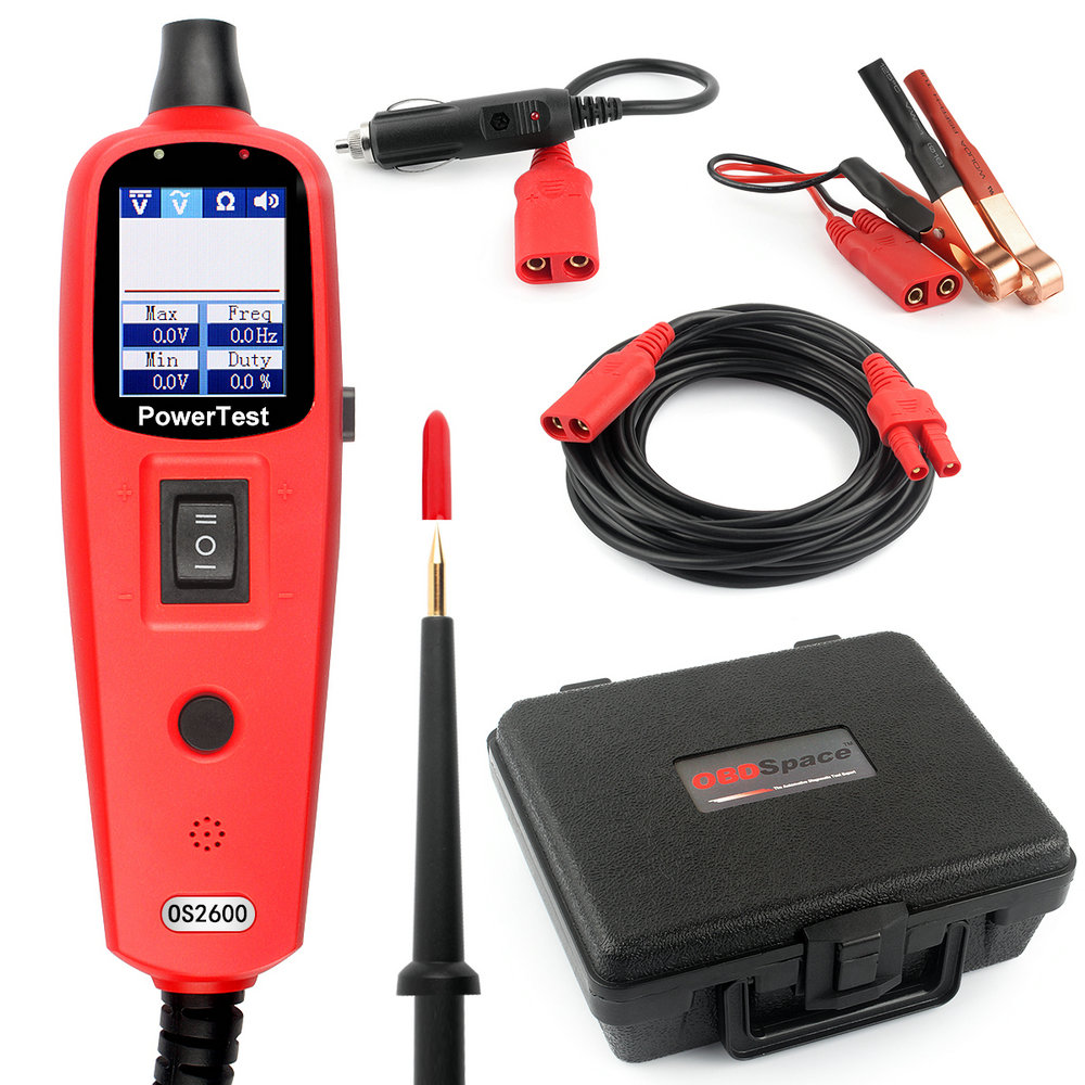 Power Probe same as YD208 Auto Circuit Tester Multimeter Lamp Car Repair Automotive Electrical Multimeter 0V-380V Voltage OS2600 стоимость