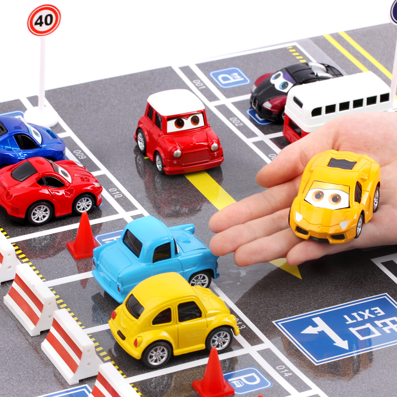 4pcs set diecast toy car alloy baby boy inertia vehicle model voiture miniature mini pull back. Black Bedroom Furniture Sets. Home Design Ideas