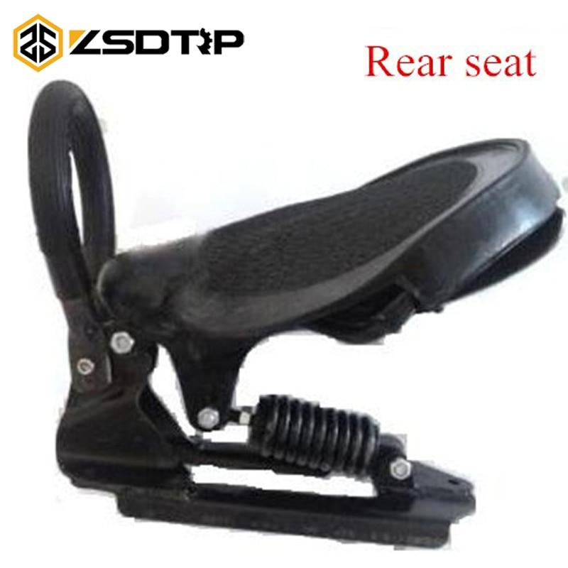 ZSDTRP rétro siège arrière de moto comp stock d'origine utilisé à Ural M72 cas pour BMW R50 R1 R12 R 71 Ural CJ-K750