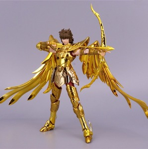 Image 5 - ST S Tempel (MC Metalen Club) Saint Seiya Doek Mythe EX Gold Boogschutter Aiolos model metalen doek