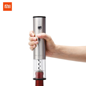 Image 5 - Xiaomi 赤ワインストッパー/自動ワインボトルオープナー電動コークスクリュー/高速デカンタサークル Joy ラウンドステンレス鋼ミニプラグ