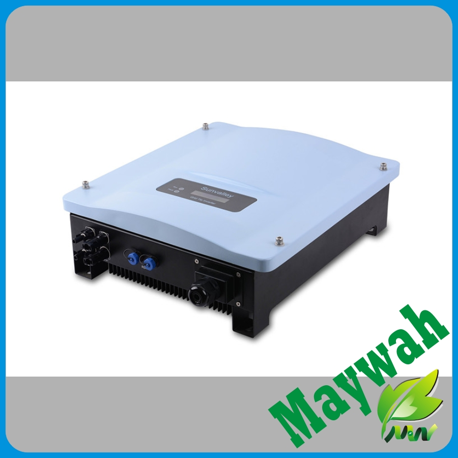 MAYLAR@ The Best String Solar On Grid  Inverter 5KW, 220VAC, 50Hz/60Hz ,97%High Efficiency, High Quality, For Solar Home System micro inverters on grid tie with mppt function 600w home solar system dc22 50v input to ac output for countries standard use