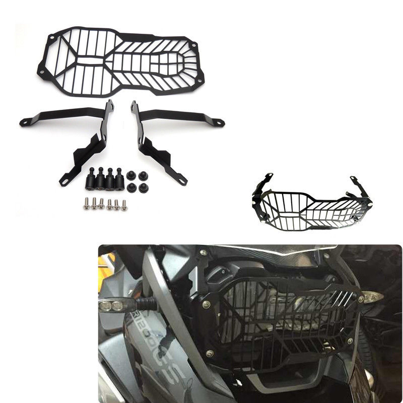 Motorcycle Headlight Grill Protector Guard Cover For BMW R1200GS Adventure 13-16 r1200gs motorcycle headlight grill guard cover protector for bmw r 1200 gs r1200gs adv adventure r 1200gs 2012 2016
