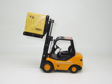 Free Shipping 1:20 RC Forklift Radio Remote Wireless Control Mini Warehouse Truck Car Children Toys Kids ingenuite Gift Y2017