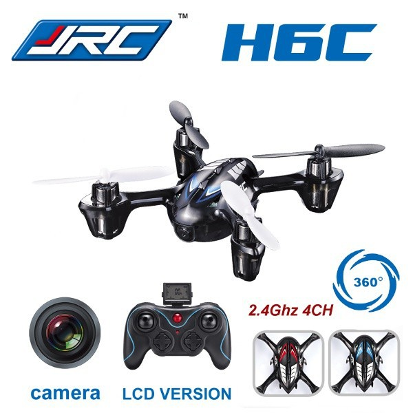 F11325 JJRC H6C 4CH 2.4G 2MP Camera LCD RC Quadcopter Drone Helicopter RTF 200W 3D 6-axle Gyro Surpass H107C Toys mini drone rc helicopter quadrocopter headless model drons remote control toys for kids dron copter vs jjrc h36 rc drone hobbies