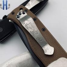 Koi Back Clip Knife Titanium Alloy ZT CNC