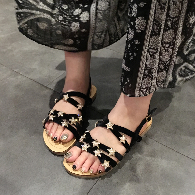 Buy roman sandals rhinestone and get free shipping on AliExpress.com bbcd2a325596