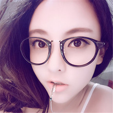 Top Quality Glasses Frame For Women Men Transparent Spectacle Clear Computer Reading Myopia Eyeglasses frame can with power lens