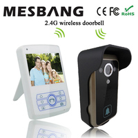 Mesbnag Villa Video Call At The Door 7 Inch TFT Digital Display Screen Doorbell Intercom With