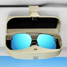 Новый автомобиль очки солнцезащитные очки держатель дело Box для Cadillac ATS BLS CTS XT4 XT5 ацл XTS STS SRX Escalade