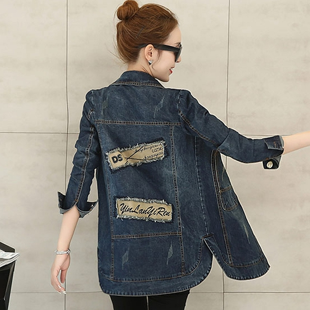 Aliexpress.com : Buy Lguc.H Women Fashion Denim Jackets for Spring ...