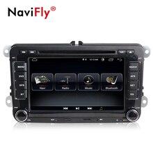 Navifly 2018 Лидер продаж Android 8,1 автомобильный dvd Радио Для VW Гольф 5 6 Jetta passat b6 Skoda Octavia/Fabia/Rapid Yeti/превосходный Автомобильный gps navigaton