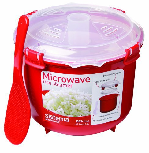 Aliexpress 1 Pcs Plastic Microwave Rice Steamer