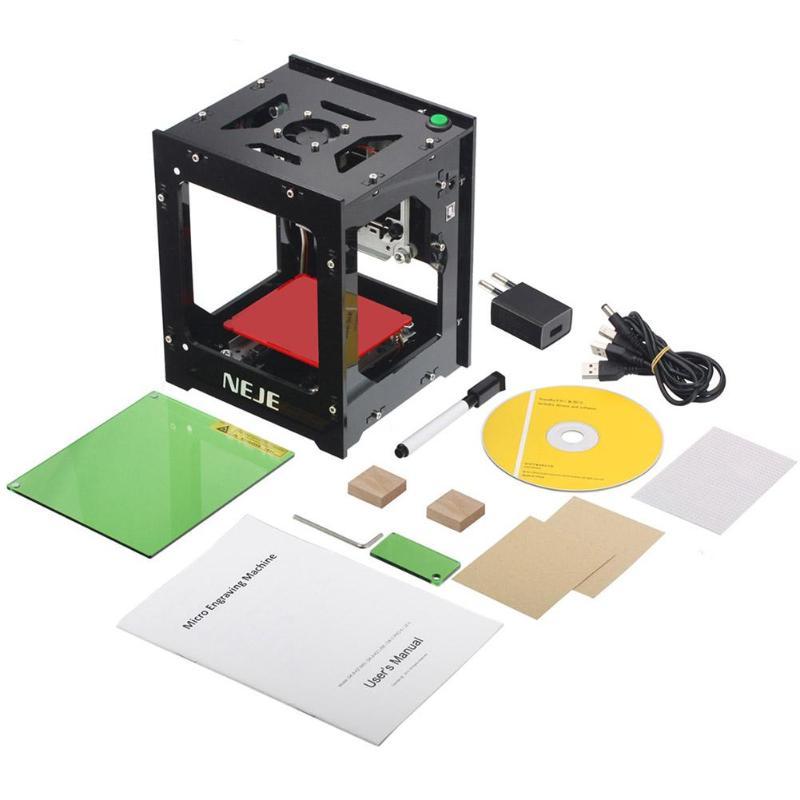 NEJE KZ 3000mw DIY Wood Router Desktop Mini CNC Laser Engraving Machine Set