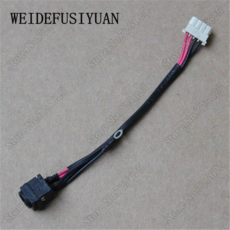 Dc in câble socket port pour sony pcg-71811n pcg-71914l pcg-71911m pcg-71912m vpceh vpc-eh vpceh1afx/b dc puissance jack connecteur