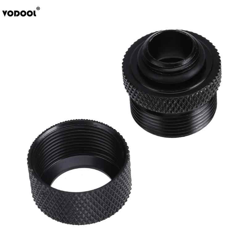 14mm G1//4 Thread Rigid Hard Tube Fittings 3 Laps for PC Computer Water Cooling