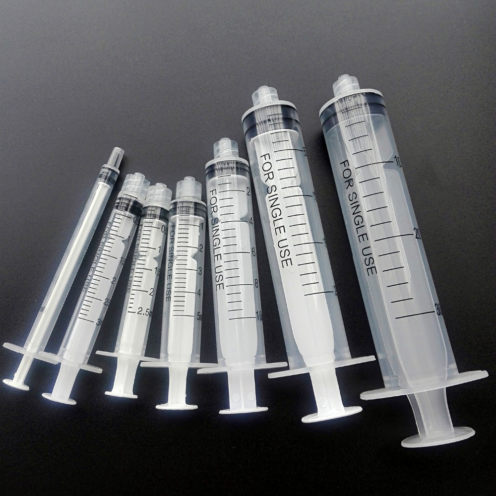 1ml,3ml,5ml,10ml,20ml,30ml Industry Syringes with Blunt Tip Needles 14G~27G 10 syringes 5ml 5cc w dispensing tips