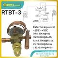 RTBT-3 bi-fluss thermostat expansion ventile mit solder verbindung rohr installiert ist in 3-in-1 wärme pumpe klimaanlagen