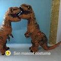 Динозавра Tyrannosaurus Rex надувные одежда rider Фестиваль одежда Парк Юрского Периода