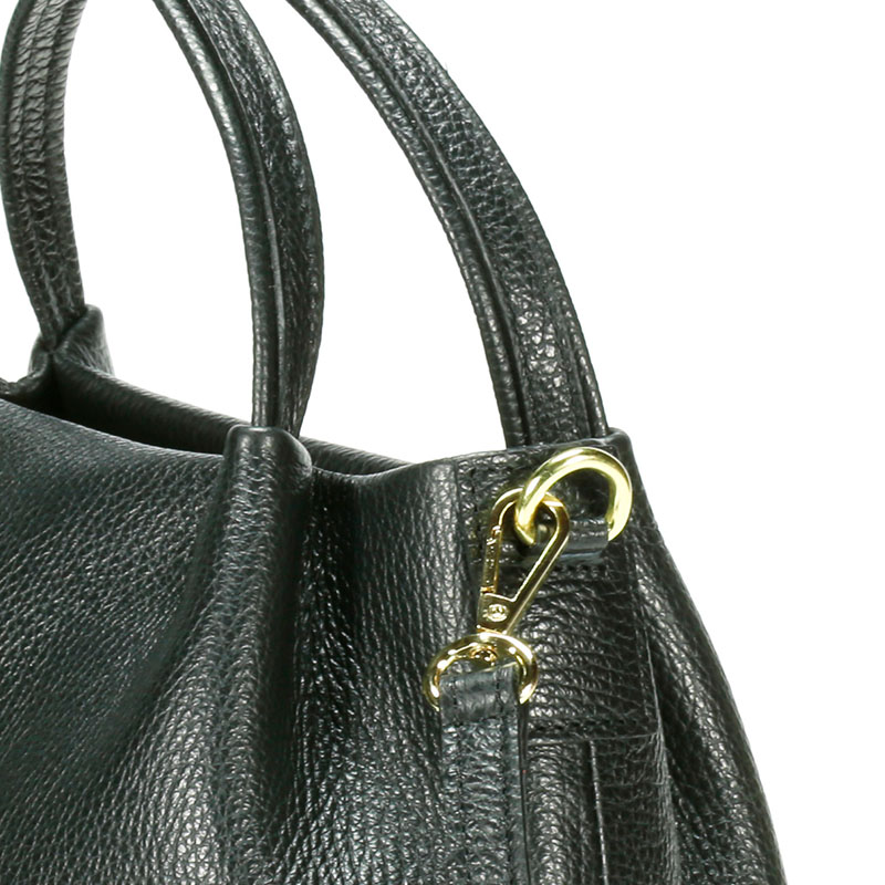 lulu milano Genuine leather leather lychee double bag made in Italy  85223-s 5