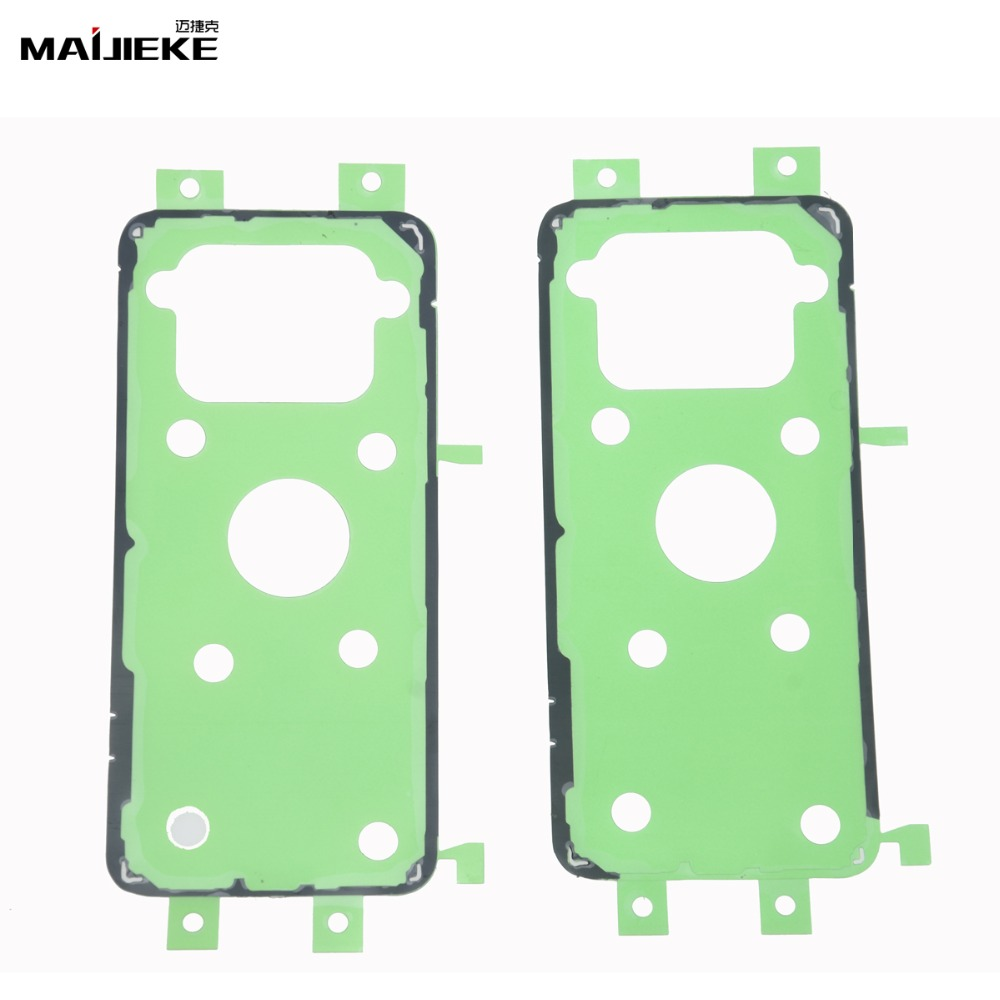 2PCS Back Housing Adhesive Tape for Samsung <font><b>Galaxy</b></font> A50 A30 <font><b>S10</b></font> Plus S8 S9 Plus S7 S6 edge plus Note 9 8 Battery Cover <font><b>Sticker</b></font> image