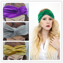 ON SALE 1PCS Smoves Women Vintage Neon Headband Double Stretch Velvet Turban Headwrap Headwear Free Drop Shipping free shipping double action 3 rod guide cylinders compact pneumatic bore 40mm stroke 50mm mgpm40 50z slide bearing new type