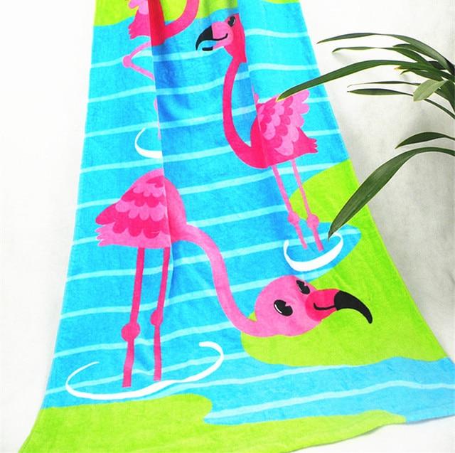 Pcs Mermaid Cotton Children Cartoon Bath Towel Baby Beach Towel Kid Bath Robe Anime