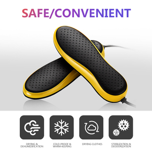 Image 2 - TINTON LIFE 220V EU Plug Portable Electric Shoe Dryer Deodorizate Sterilization Dehumidificate Shoes Baked Dryer