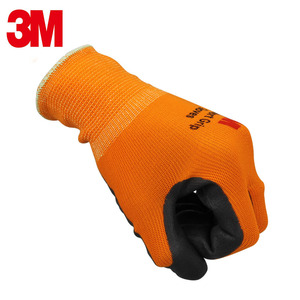 Image 3 - 3M protection gloves Breathable Dipping working gloves Wearable Non slip Machine repair Labour protection glove