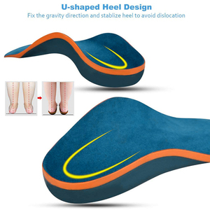Image 4 - Demine Children Orthopedic Insoles Flatfoot Corrector Arch Support Orthotic Pads Toddler Children Shoes Pads Foot Health Care