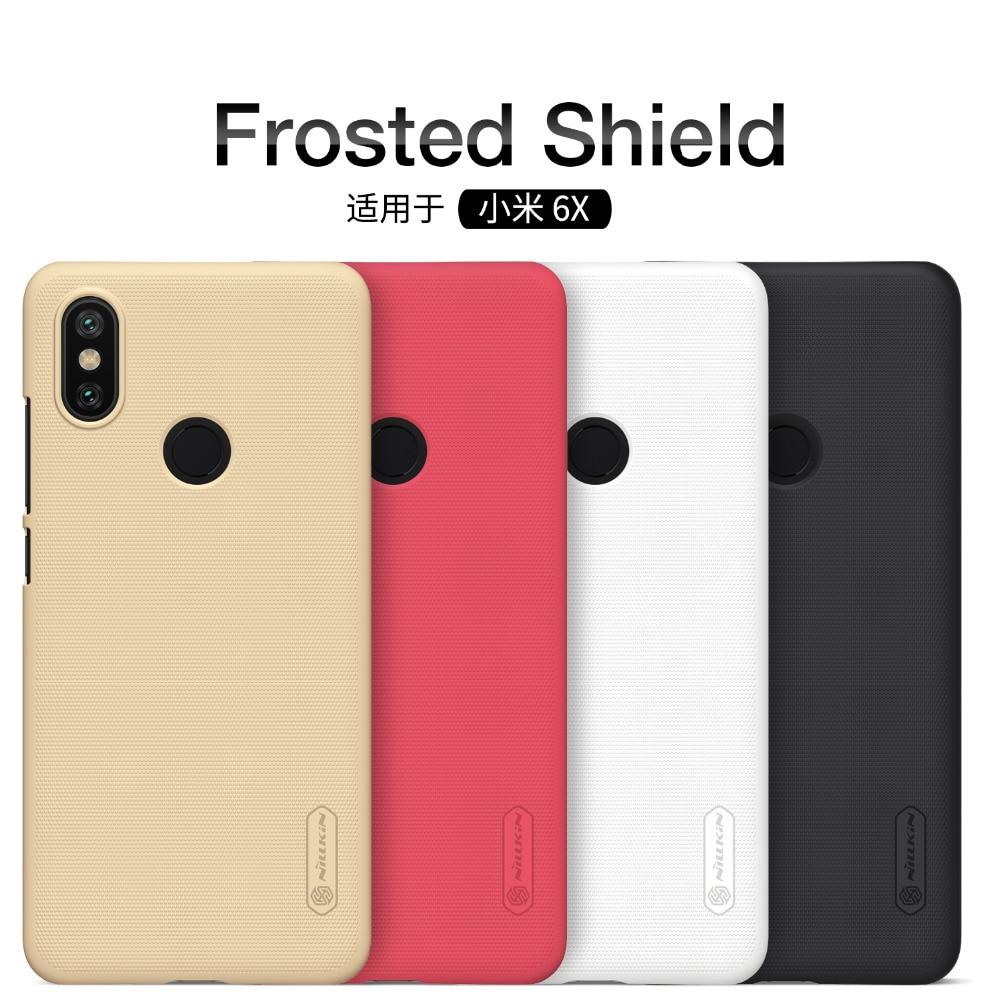 For xiaomi mi9/mi 9T Case Nillkin Frosted Shield Hard Back Cover Case For xiaomi mi 9 se/mi9 Lite/mi A3/Mi6/mi6x phone bags