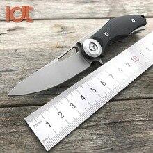 LDT Bär Dark Mini Folding Messer Stahl G10 Griff D2 Klinge messer Jagd Tasche Überleben Taktische Outdoor Camping Messer Werkzeug