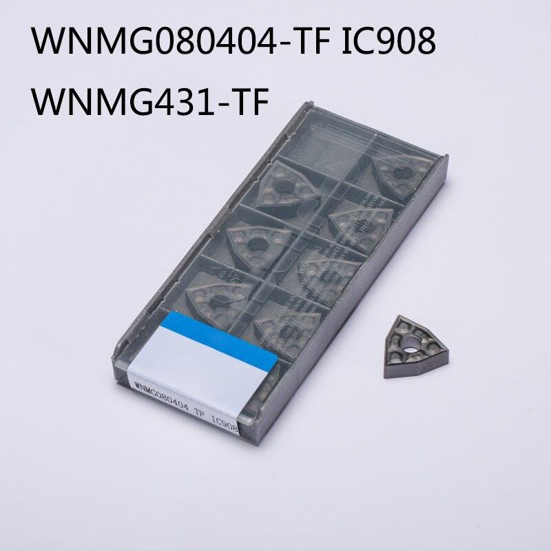 3boxes ZIYI WNMG431-TF IC907 WNMG080404-TF IC907 New CNC Carbide Insertsing