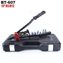 YOUSAILING BT-607 16 (400 MM) blind Hand Riveter Griff Niet Muttern Gun mit Kunststoff Fall M3/M4/M5/M6/M8/ m10/M12