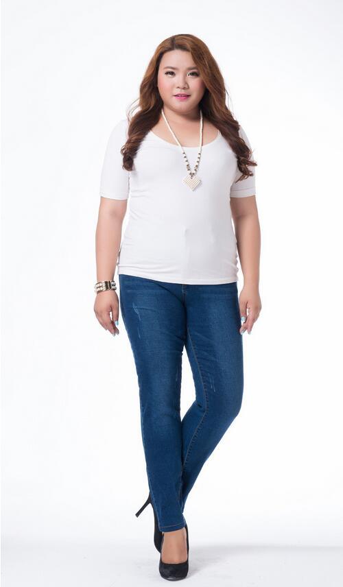 New fashion spring autumn women jeans 4