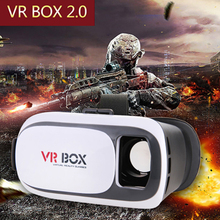 VR BOX Upgraded Google Cardboard 2.0 Excellent Quality Virtual Reality Immersive Viewing+Smart Bluetooth Gamepad Headset Glasses