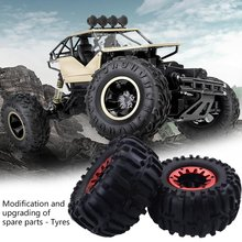 RC CarTire 1/10 Universal Big Car Climbing Modified Upgrade Parts Tire Aluminum Alloy Wheel For Traxxas