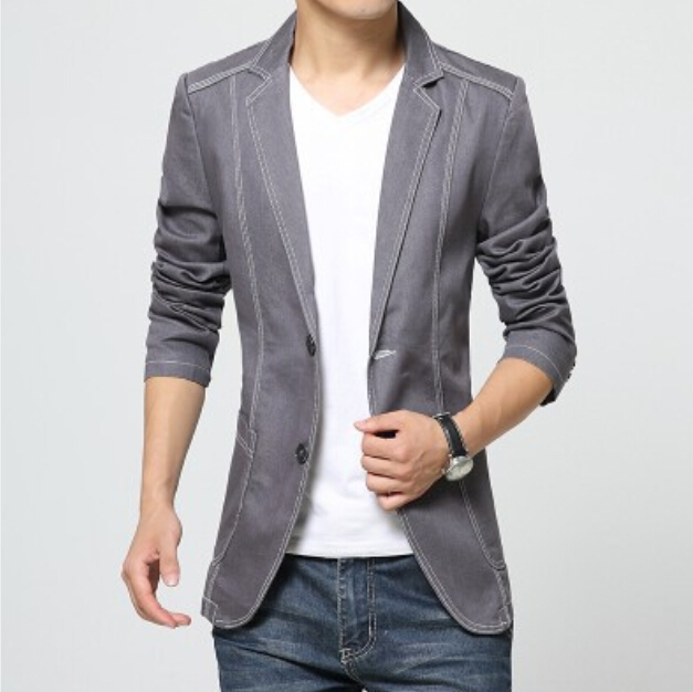 Fashion Suit Jacket And Jeans - Most Popular Jeans 2017