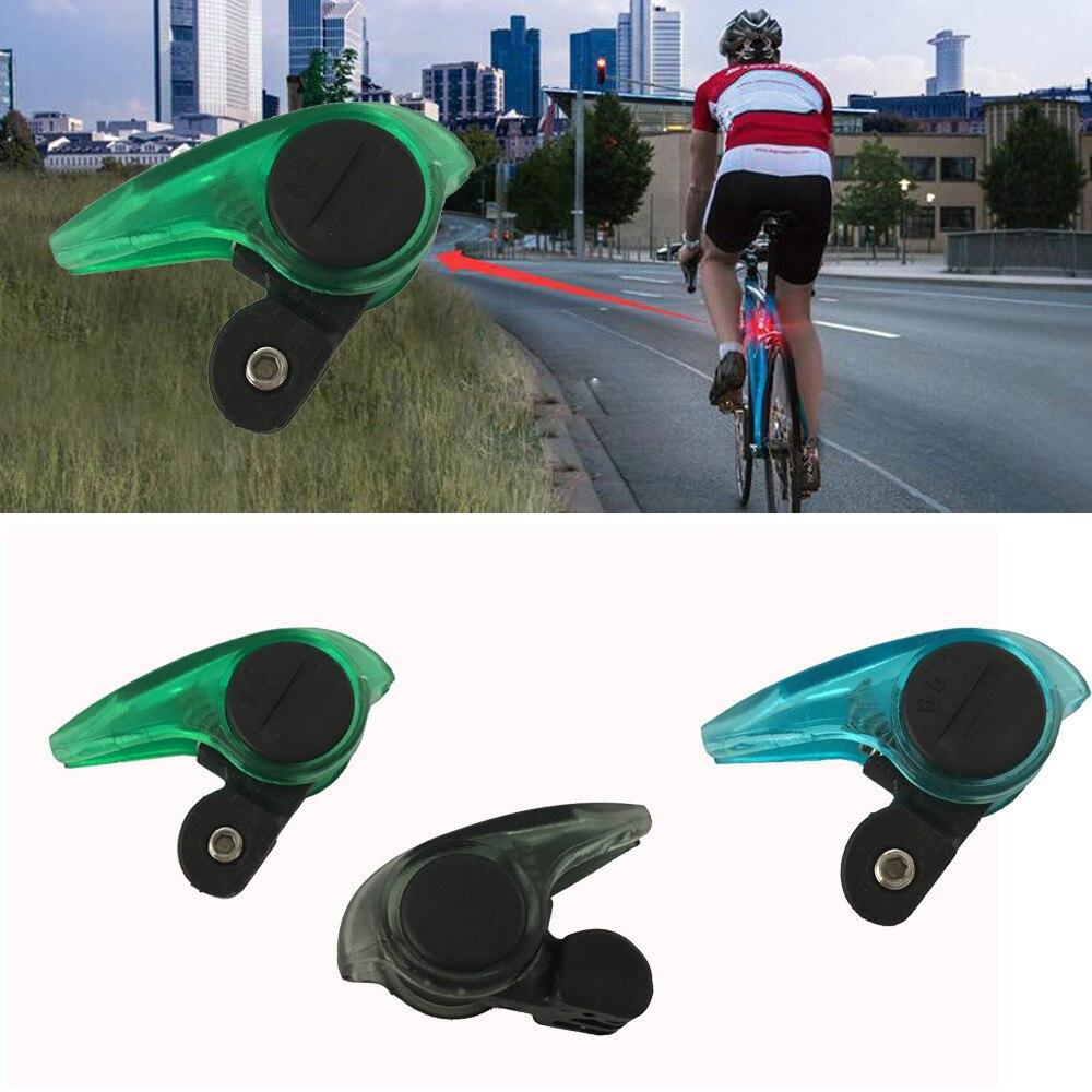 1x Portable Mini Brake Bike Light Mount Tail Rear Bicycle Cycling Led Taillight