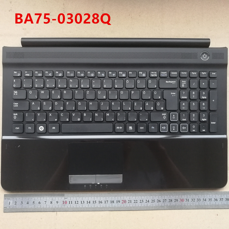 Hungary layout new laptop keyboard with touchpad palmrest for Samsung RC510 RC520 HU BA75-03028Q все цены